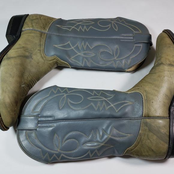 a72c669a4b2 Botas El Cuatralbo Men's Western Cowboy Boots 10.5